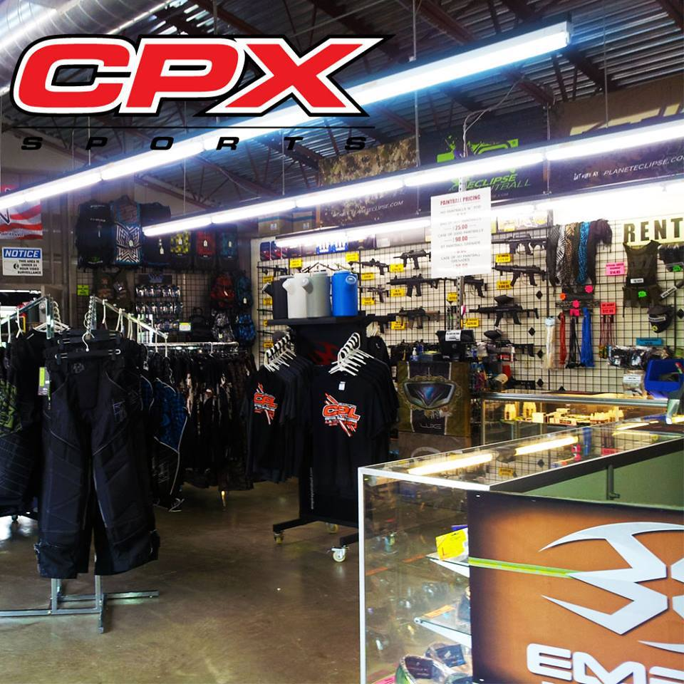 Cpx paintball – chicago s world famous paintball park – proshop
